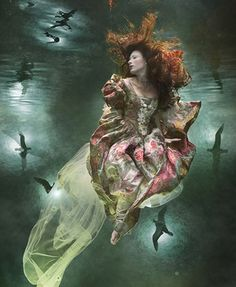 "Zena Holloway (photography) & Heidi Taylor (illustrations), ""The Water Babies"": ""Remember, those who wish to be clean will be clean, and those who wish to be dirty will be dirty', said old Mother Carey"""
