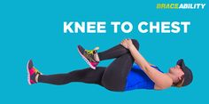 Knee to Chest Stretch for Sciatica Nerve Pain