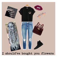 Designer Clothes, Shoes & Bags for Women J Brand, Women's Clothing, Converse, Shoe Bag, Woman, Clothes For Women, Female, Polyvore, Flowers