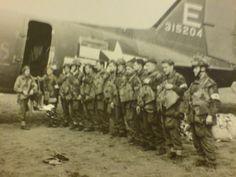 British 4th AB div ready to jump into Arhem sept 1944