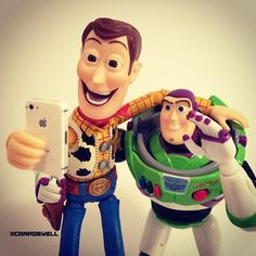 Taking a selfie with Buzz. | This Guy Is The Most Followed Non-Famous Person On Instagram