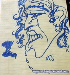 Artwork by Michael Jackson himself