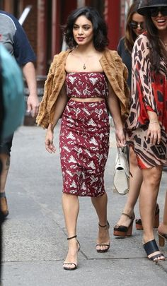 23 Times Vanessa Hudgens Dressed Better Than Everyone | Out and About in NYC