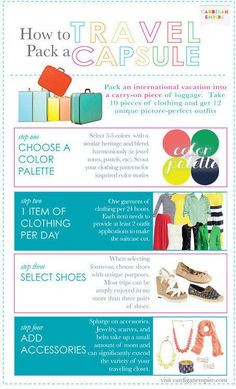 For those who overpack. | 22 Fashion Infographics You Need In Your Life
