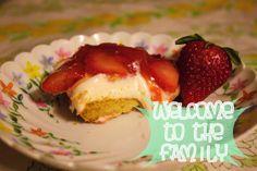 "Strawberry dessert pizza #vegan #recipe ""Finished Product"""