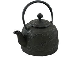 Cast Iron Teapot Black 2