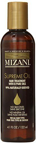 Mizani Supreme Oil Hair Treatment - 4oz ** You can find out more details at the link of the image.