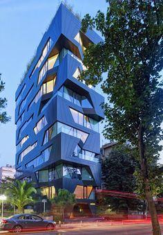 High Quality Edificio De Departamentos Por Aytac Architects. ArchitectsBuilding StudyArchitecture Awesome Ideas