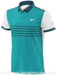 d5ea221a996b Nike Men s Fall Advantage Premier RF Striped Polo