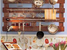 Kitchen Rail Storage Ideas