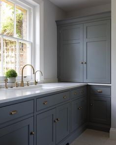23 Charming Cottage Kitchen Design and Decorating Ideas that Will Bring Coziness to Your Home - The Trending House Kitchen Living, New Kitchen, Kitchen Decor, Kitchen Larder, Kitchen Cabinets, Kitchen Brass Hardware, Kitchen Corner Cupboard, Pantry Cupboard, Kitchen Cabinet Handles