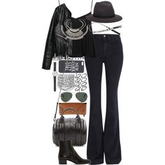 Inspired outfit for a day at a music festival by whathayleywore on Polyvore featuring Topshop, MANGO, STELLA McCARTNEY, Yves Saint Laurent, Alexander Wang, Forever 21, J.Crew, Hat Attack, Ray-Ban and H&M
