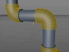 Creating Pipes Using the Chamfer Tool in Cinema 4D – jamie3d