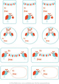 Emily laurel harris holiday desktop wallpapers lots of designs free wee birdy christmas gift tags 2011 reheart Gallery