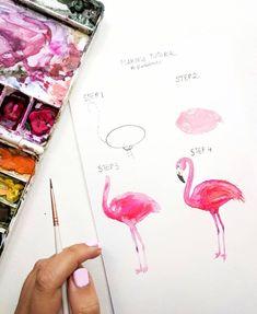 Watercolor tutorial