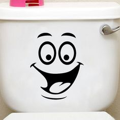 Honana BX-421 Smiling Face Waterproof Toilet Sticker Bathroom Decoration Decal //Price: $4.58 & FREE Shipping //     #wallstickerforbedroom #wallstickerforlivingroom #wallstickerforkids #wallstickerforkitchen #3Dwallsticker #removeablewallsticker #treewallsticker ##3wallstickers#3dbutterflywallstickers #3dmirrorwallstickers #3dwallsticker #3dwallstickermalaysia #3dwallstickers #3dwallstickersamazon #3dwallstickersaustralia #3dwallstickersbeach #3dwallstickersebay #3dwallstickerspakistan…