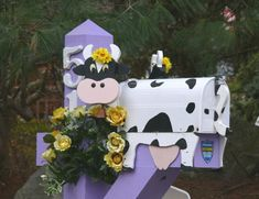 Spring #Cow Mailbox. :-)