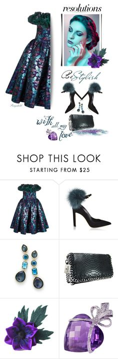 """#PolyPresents: New Year's Resolutions"" by ragnh-mjos ❤ liked on Polyvore featuring Nina Ricci, Jimmy Choo and Ippolita"