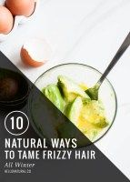 10 Natural Ways to Tame Frizzy Hair   HelloGlow.co