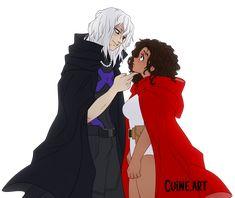 Black Couple Art, Black Girl Art, Black Girls, Black Cartoon Characters, Black Girl Cartoon, Anime Oc, Anime Guys, Anime Couples, Cute Couples