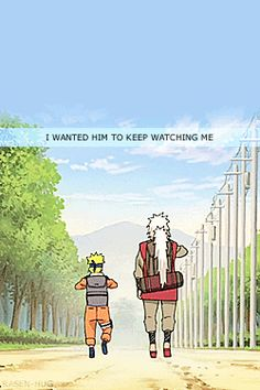 This makes me sad, bc well Jiraiya, ya know T-T