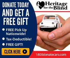 Heritage for the Blind Banner Ad by Webzline