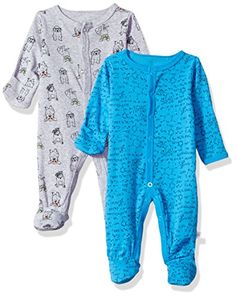 Rosie Pope Baby Boys Coveralls 2 Pack, School Theme, 0-3 ...