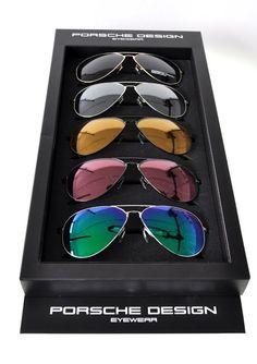 Porsche Design Eyewear. So hard to choose http://www.eyesofnanuet.com