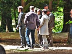Colin, Josh, Jennifer, Ginny, Lana, & Sean on set (July 14, 2015)