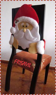 Manualidades Navideñas Frisavil Cubresillas - S/. 60,00