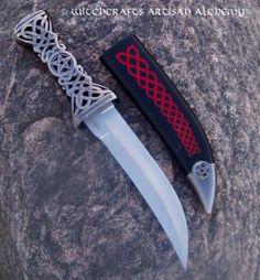 Witchcrafts Artisan Alchemy - CELTIC PENTAGRAM Dagger, $52.95 (http://www.witchcraftsartisanalchemy.com/celtic-pentagram-dagger/)