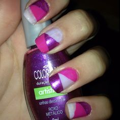 I think I'm going to actually start doing my nails... lol.