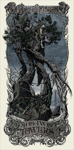Mondo Reveals Their Final Poster For 2013; LORD OF THE RINGS: THE TWO TOWERS