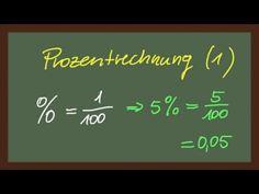 Mathematik: Prozentrechnung Teil 1 [lautlos]