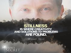 Eckhart Tolle Stillness.....