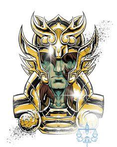 Manga Anime, Anime Art, Knights Of The Zodiac, Disney Tattoos, Illustration Sketches, Geek Culture, Anime Comics, Power Rangers, Canvas