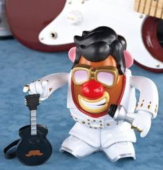 Elvis® Live Mr. Potato Head™ Brand New found at juanitamart47