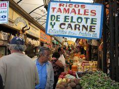 Open Market in Tijuana, Mexico