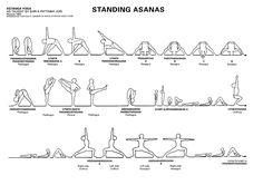 21 best sanskrit asanas images on pinterest  yoga poses