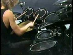 Terry Bozzio solo drums 1988