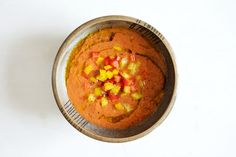 Gazpacho mit Paprika, Tomate und Gurke