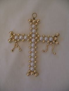 Latin Cross with Alpha and Omega