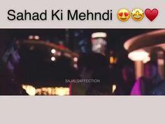 Love Songs Hindi, Song Hindi, Aiza Khan Wedding, Bridal Mehndi Dresses, Mix Video, Sajal Ali, Best Love Lyrics, Cool Girl Pictures, Best Couple