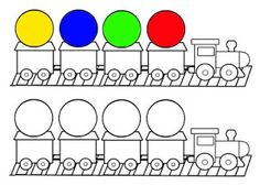 Pro Štípu: Pracovní listy BARVY TVARY Math For Kids, Crafts For Kids, Sudoku, Preschool Colors, Task Boxes, Early Education, Worksheets For Kids, Learn English, Transportation