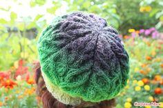 """Беретик """"Герда"""" из Дундаги Knitted Hats, Knit Crochet, Berets, Boho, Knitting, Women, Beret, Tricot, Knit Caps"""