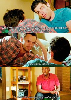new girl. Lol luv this show :) New Girl Quotes, Tv Quotes, New Girl Tv Show, Best Kids Watches, Nick Miller, Hey Girl, Best Tv, The Funny, Favorite Tv Shows