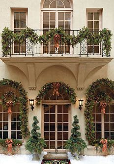 christmas garlands and actually getting to decorate my house for the holidays christmas pinterest garlands decorating and holidays - Classy Outdoor Christmas Decorations