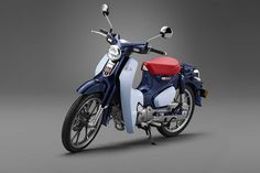 Honda Motor Co. Honda Global Site - The official Honda global web site for information on Honda Motor and its subsidiaries and affiliates. Moped Motorcycle, Trike Bicycle, Honda Cub, Honda Motors, Honda Bikes, Custom Bikes, Custom Cars, Ad Car, Cool Motorcycles