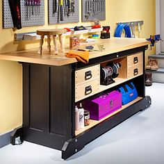 Free Workbench Plans from Workbench Magazine - Woodwork City