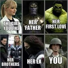 Top 30 Funny Marvel Avengers Memes - Quotes and Humor Avengers Humor, Marvel Avengers, Marvel Jokes, Funny Marvel Memes, Dc Memes, Meme Comics, Funny Superhero Memes, Loki Funny, Marvel Comics